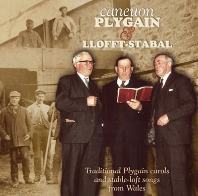 PARTI FRONHEULOG - CANEUON PLYGAIN & LLOFFT STABAL / CLOSE HARMONY TRADITIONAL CAROL SINGING